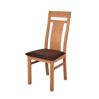 Dubová polstrovaná židle Angi