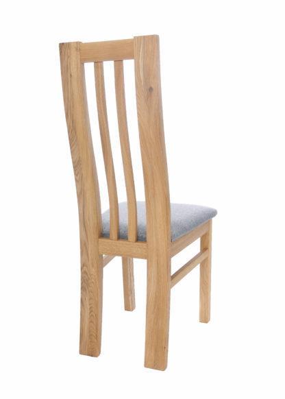 Dubová židle Oslo s látkovým polstrováním