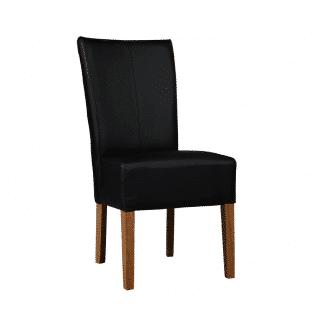 Dubová polstrovaná židle Herman