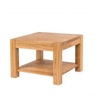 Masivní dubový konferenční stolek 75