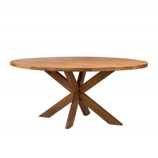 Dubový oválný jídelní stůl Surfer