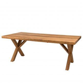 Dubový jídelní stůl Korund X