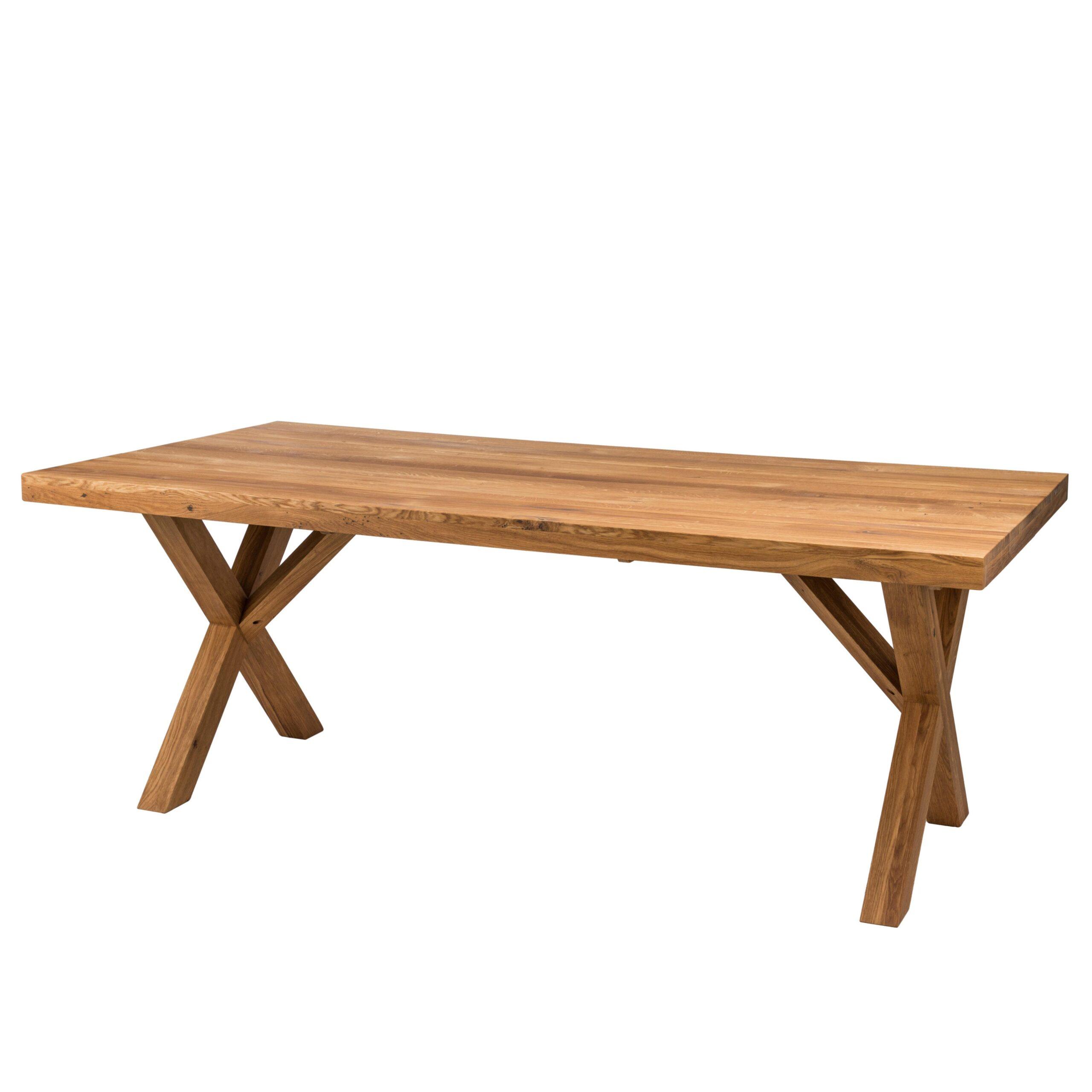 Dubový jedálenský stôl Korund X