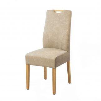 Dubová polstrovaná židle Lumi