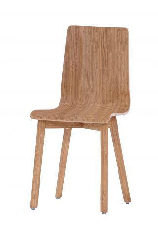 Dubová olejovaná jídelní židle Luka L