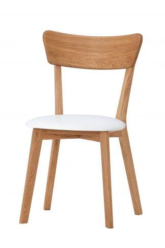 Masívne dubová stolička Sandra