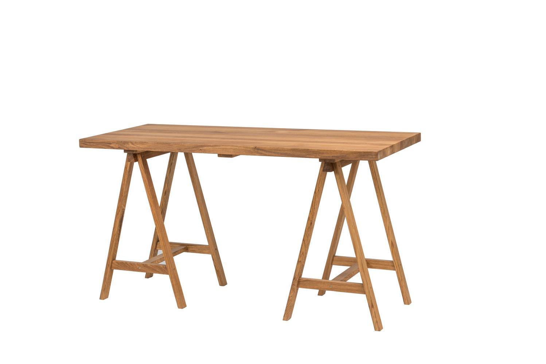 Dubový olejovaný pracovný stôl Bridge