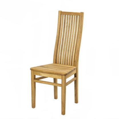 Masivní dubová židle Sandra (více variant povrchových úprav)