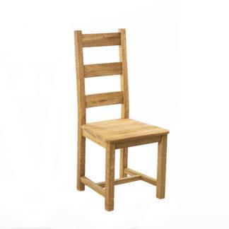 Masivní dubová židle Ladder Back (více variant povrchových úprav)