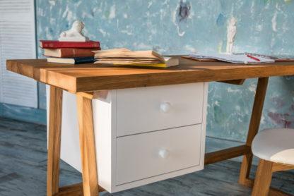 Pracovný stôl z masívneho dubu Modern (viac variantov veľkostí)