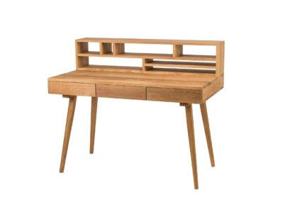 Pracovný stôl z masívneho dubu Office (viac variantov veľkostí)
