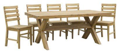 Dubový olejovaný jedálenský stôl Trol