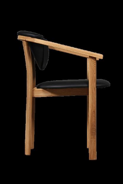Dubová polstrovaná židle Alexis (více variant polstrování)