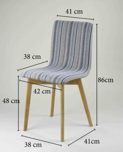 Drevená jedálenská stolička Grim Soft