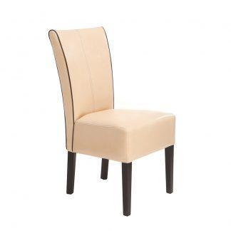 Dubová polstrovaná židle Herman rustik