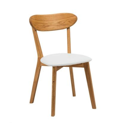 Dubová polstrovaná stolička Isku (viac variantov polstrovanie)