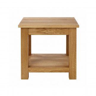 Masivní dubový konferenční stolek 50