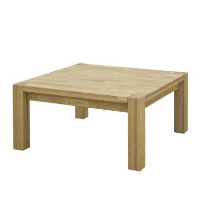 Masivní dubový konferenční stolek 90