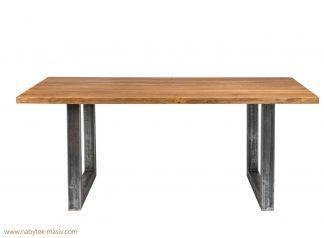 Dubový jídelní stůl Bergamo