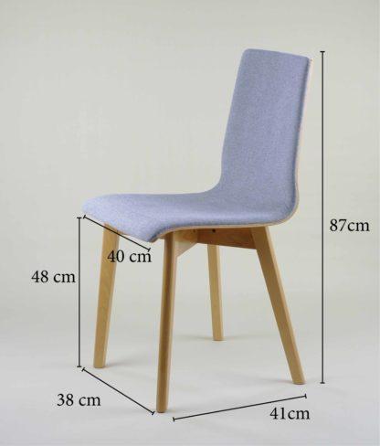 dubová moderné stoličky