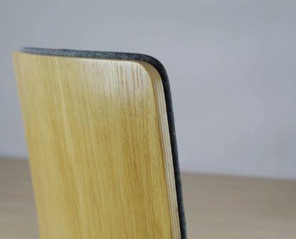 Dubová stolička Luka SOFT W