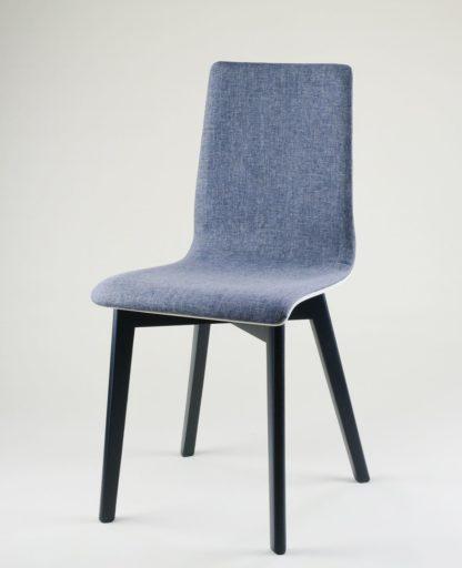 Dubová jídelní židle Luka SOFT Black
