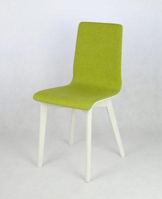 Dubová jídelní židle Luka SOFT Green