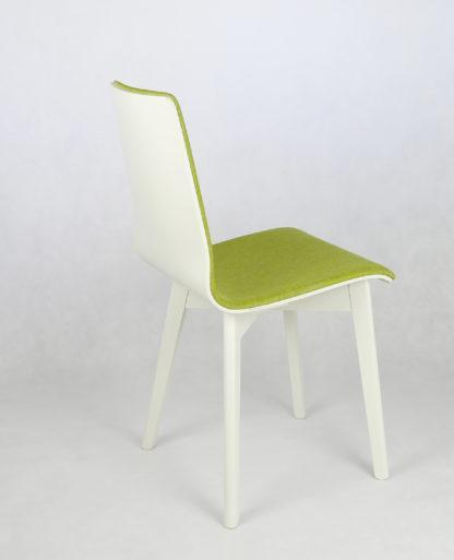 Drevená jedálenská stolička Luka SOFT Green