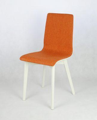 Dubová jídelní židle Luka SOFT Orange