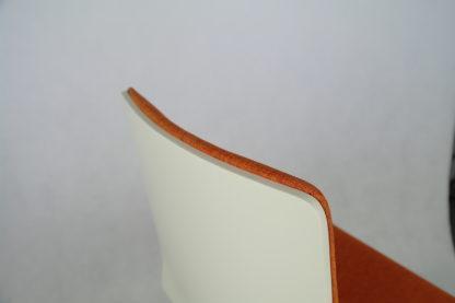 Dřevěná jídelní židle Luka SOFT Orange