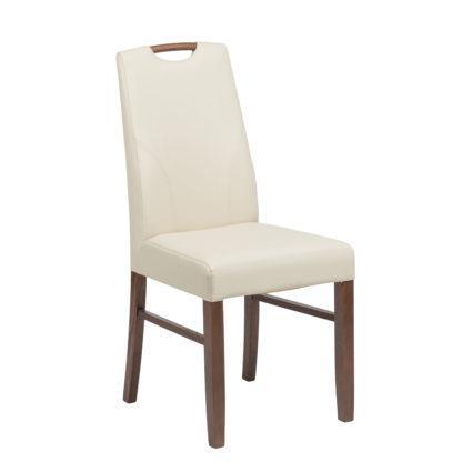 Dubová židle rustik s polstrováním Lumi