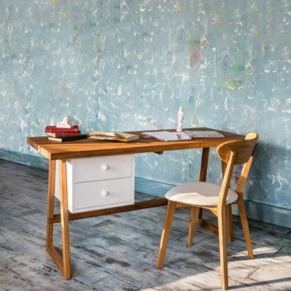 Pracovní stůl z masivního dubu Modern (více variant velikostí)
