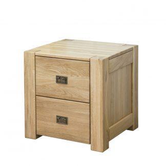 Masívny dubový nočný stolík 2Z