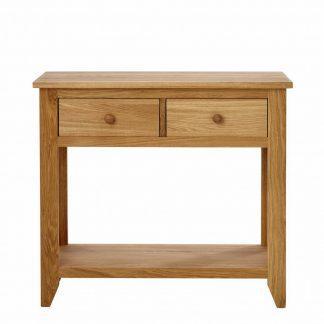 Masivní dubový odkládací stolek 2Z