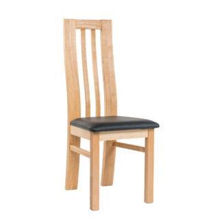 Masívne jaseňová stoličky Oslo