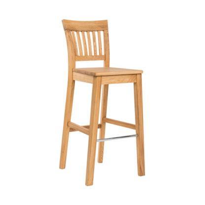 Barová dubová židle Raines