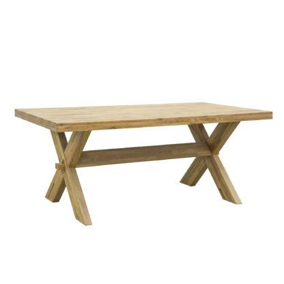 Dubový olejovaný jídelní stůl Trol