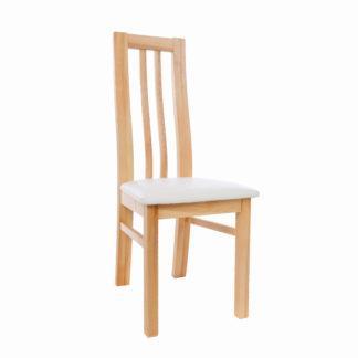 Masivní polstrovaná jasanová židle Oslo