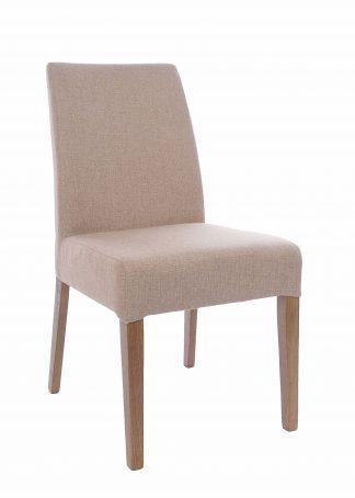 dřevěná polstrovaná židle