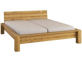 Dřevěná postel 180x200