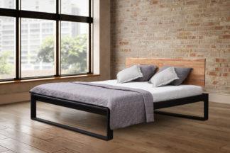 Dubová masívna posteľ Pavla 180 x200 cm, vrátane roštu