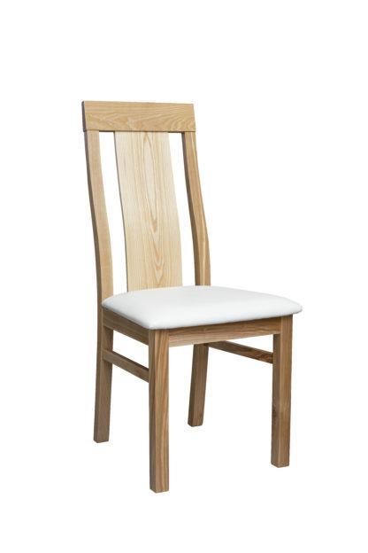 Jasanová židle Sofi bílá eko