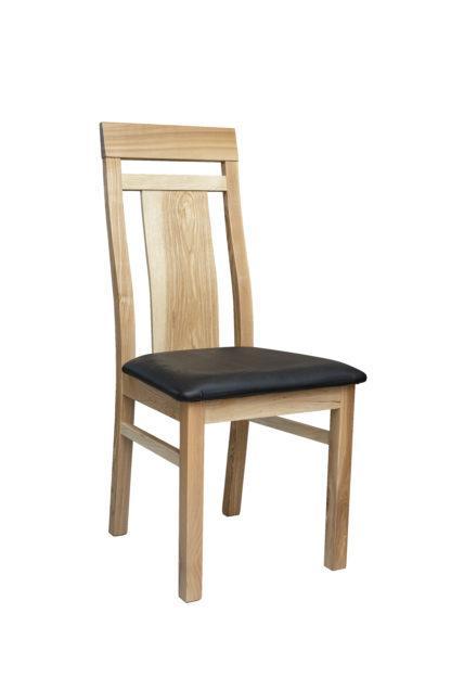 Jasanová židle Angi polstrovaná