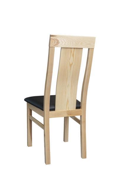 Jasanová židle Sofi černá eko