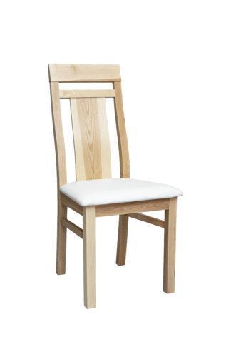 Jasanová židle Angi bílá