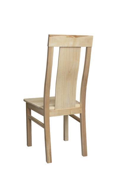 Masivní jasanová židle