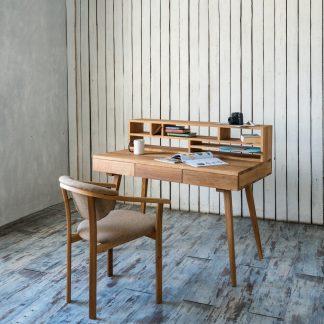 Pracovní stůl z masivního dubu Office (více variant velikostí)
