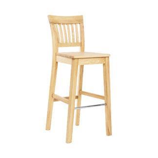 Barová jasanová lakovaná židle Raines