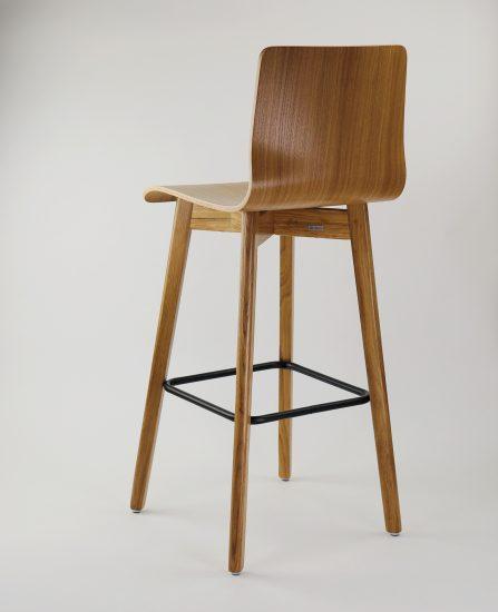 Dubová olejovaná jídelní židle Luka L Bar