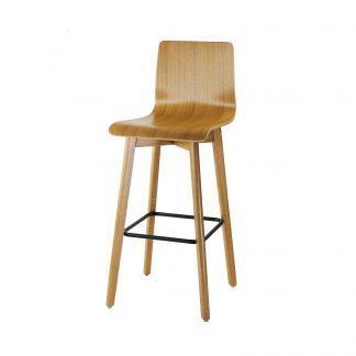 Dubová jídelní židle Luka L Bar